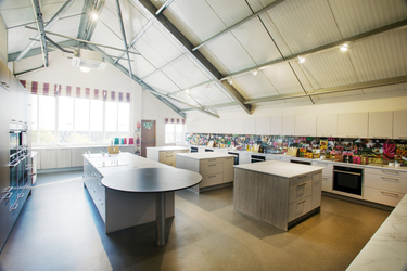 cookery school interior